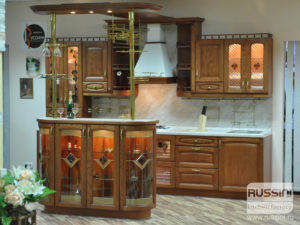 Кухня Верона массив ясеня