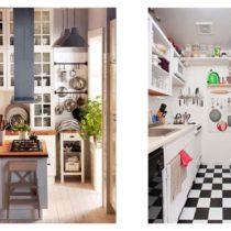 Идеи для маленькой кухни
