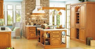 Кухня массив 164