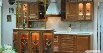 Кухня из массива Верона