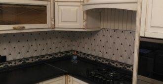 Кухня массив березы
